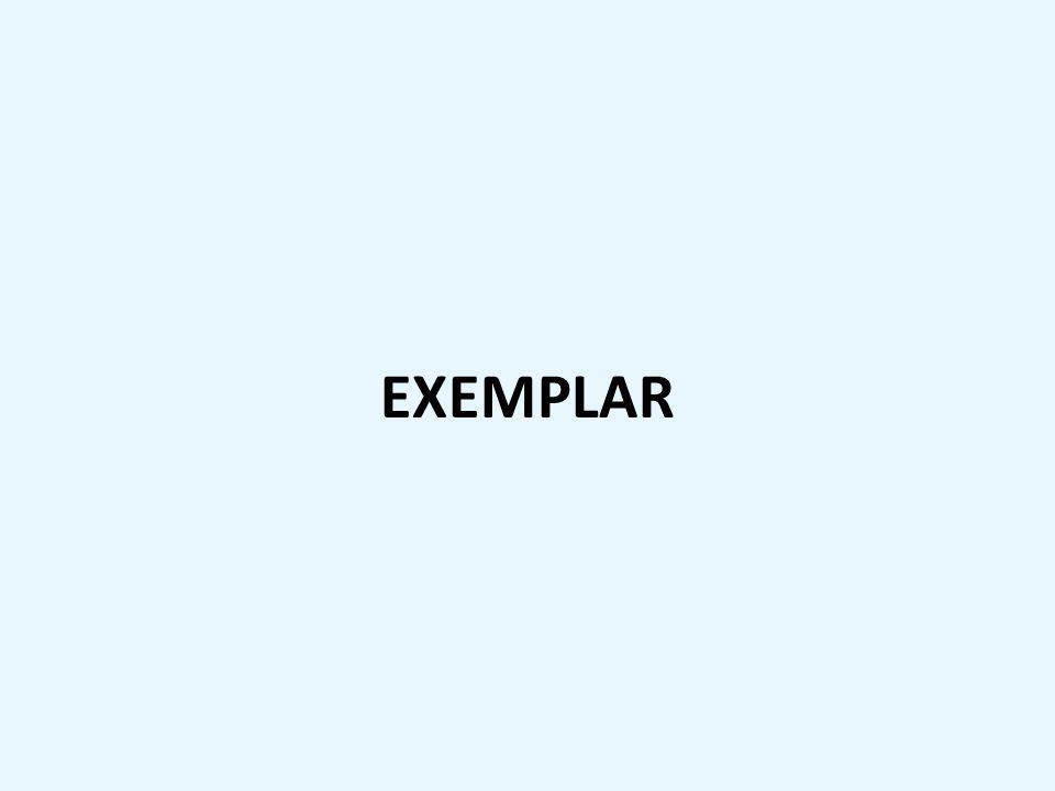 EXEMPLAR
