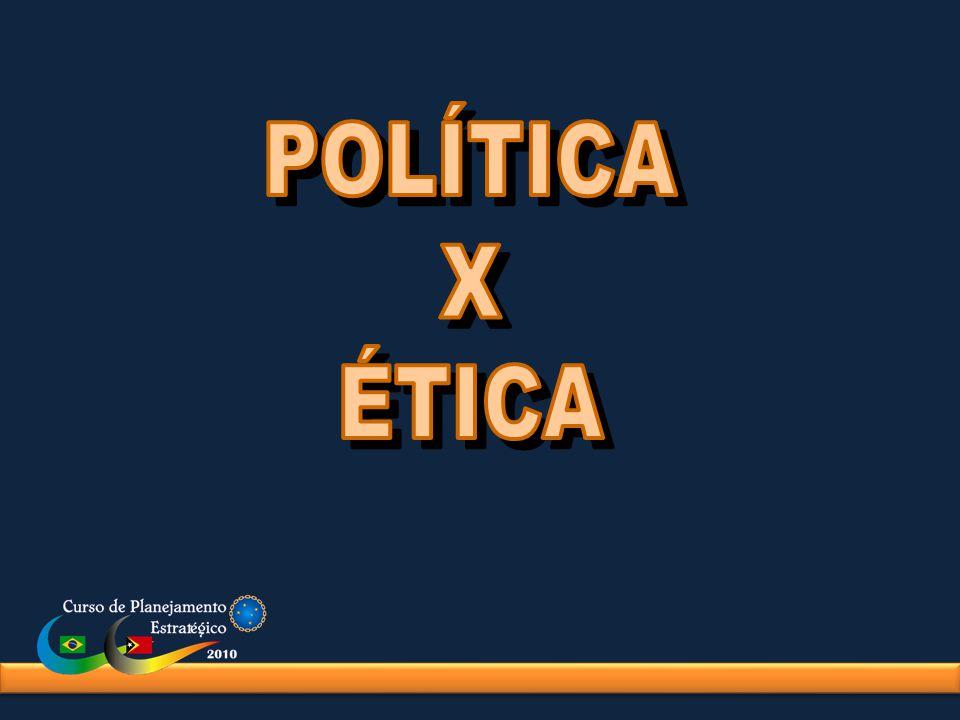 POLÍTICA X ÉTICA