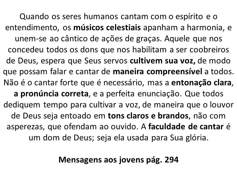 Mensagens aos jovens pág. 294