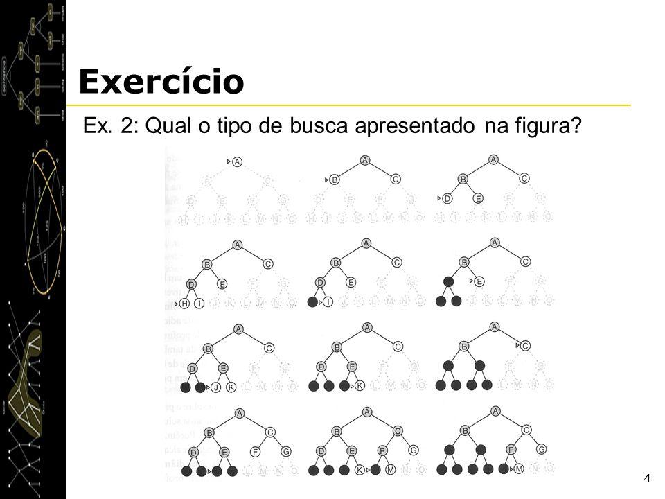 Exercício Ex. 2: Qual o tipo de busca apresentado na figura