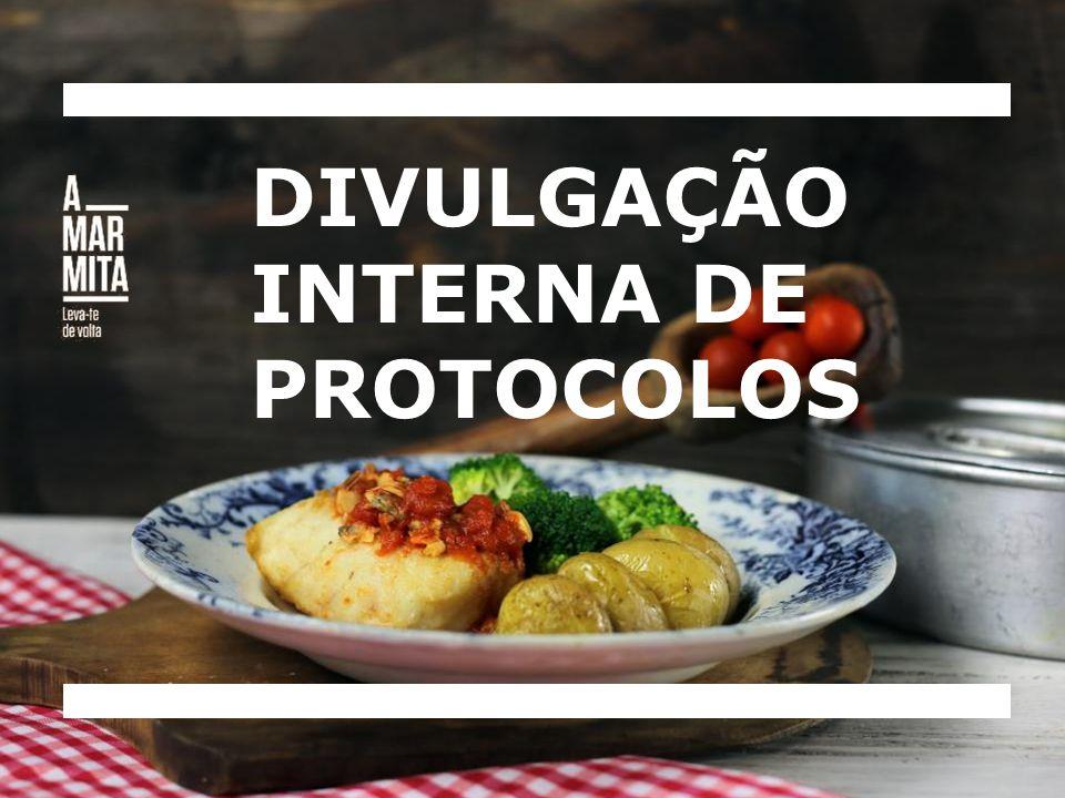 DIVULGAÇÃO INTERNA DE PROTOCOLOS