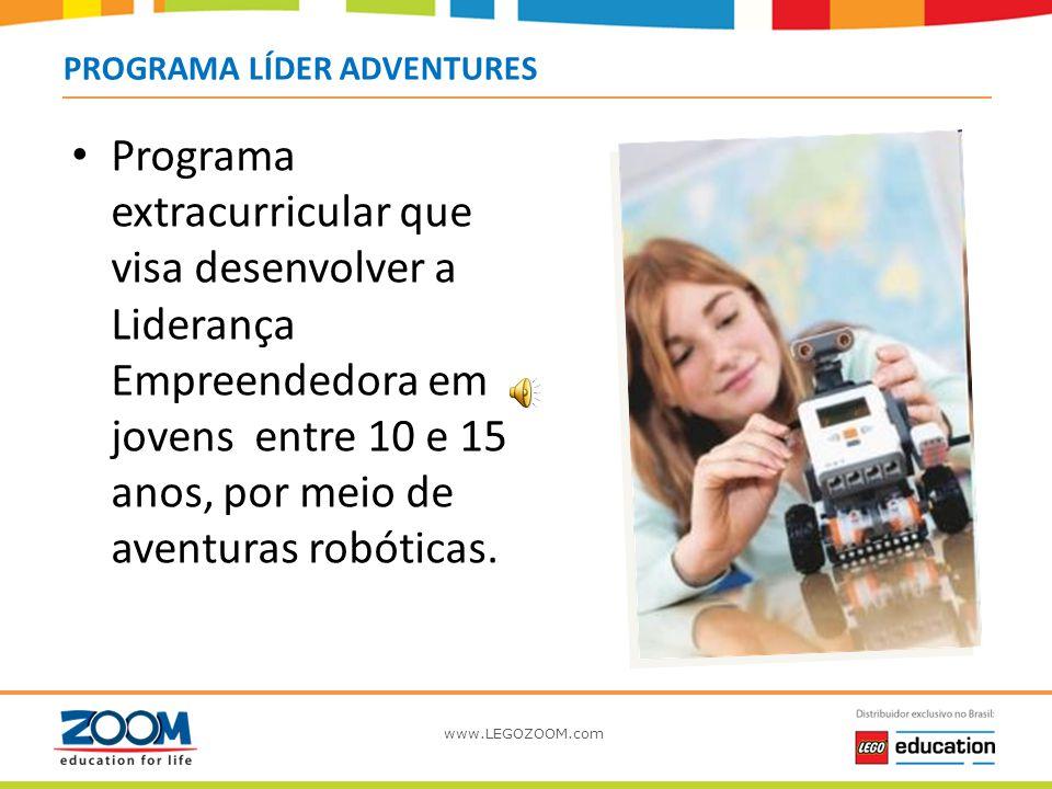 Programa LEGO LÍDER PROGRAMA LÍDER ADVENTURES.