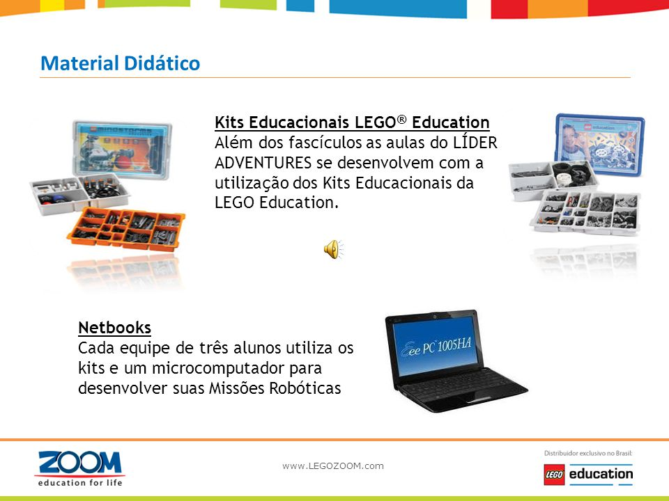 Material Didático Kits Educacionais LEGO® Education