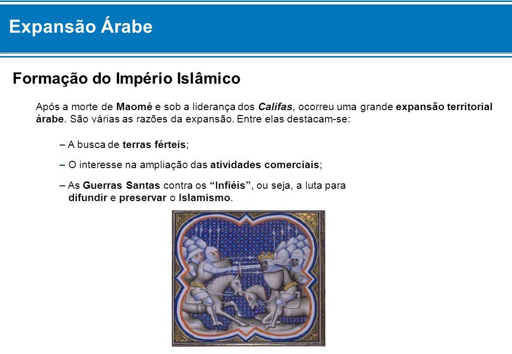 Expansão Árabe Formação do Império Islâmico