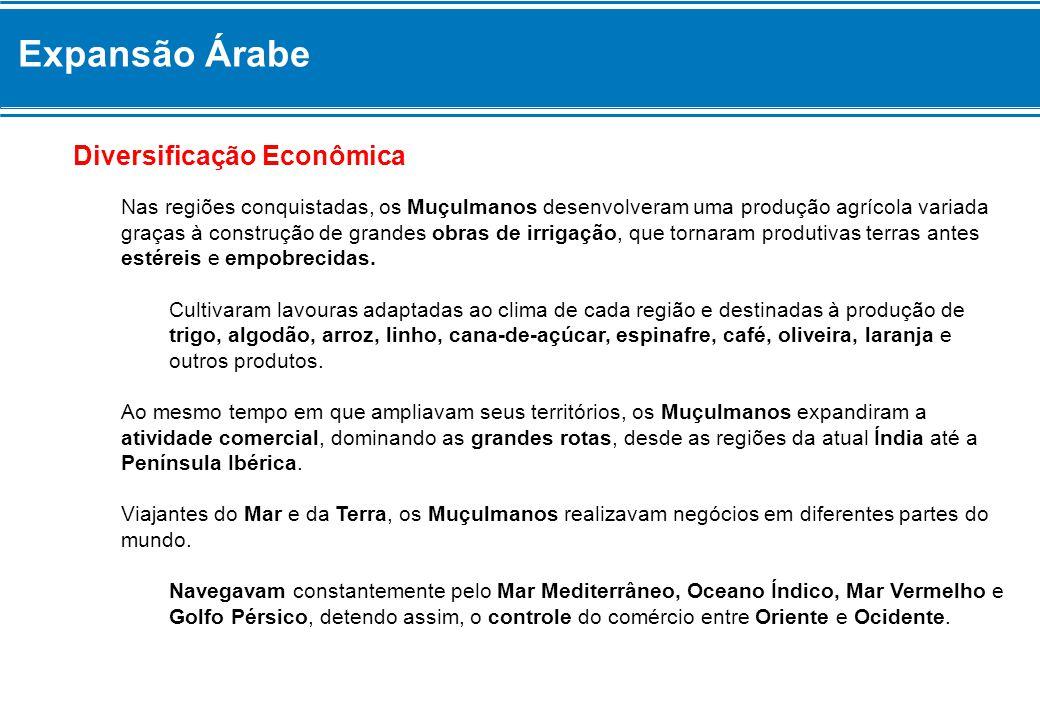 Expansão Árabe Diversificação Econômica