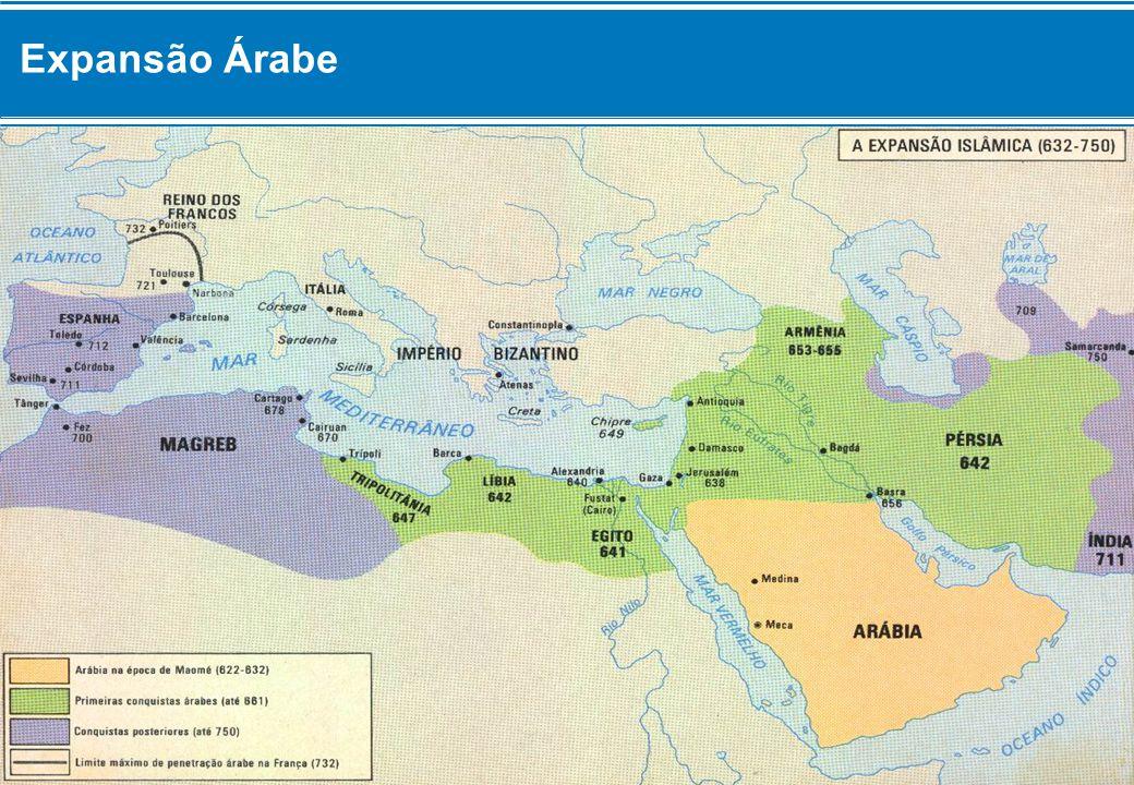 Expansão Árabe