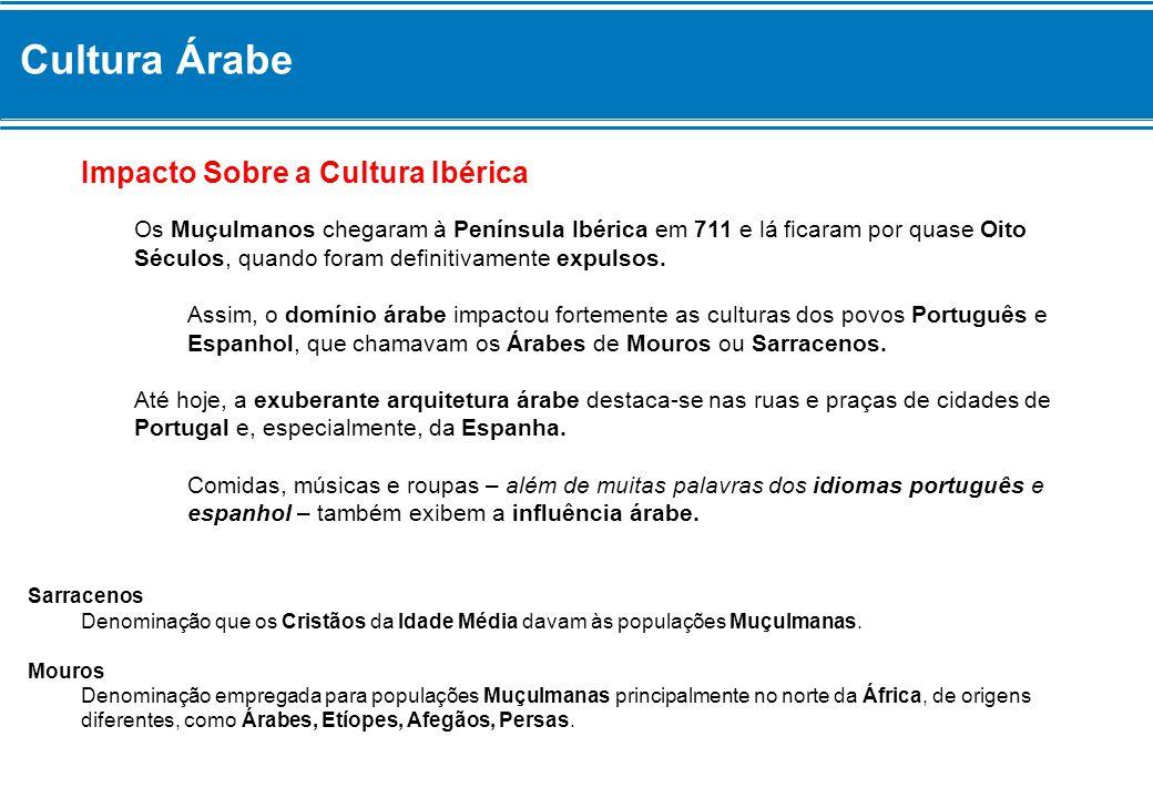 Cultura Árabe Impacto Sobre a Cultura Ibérica