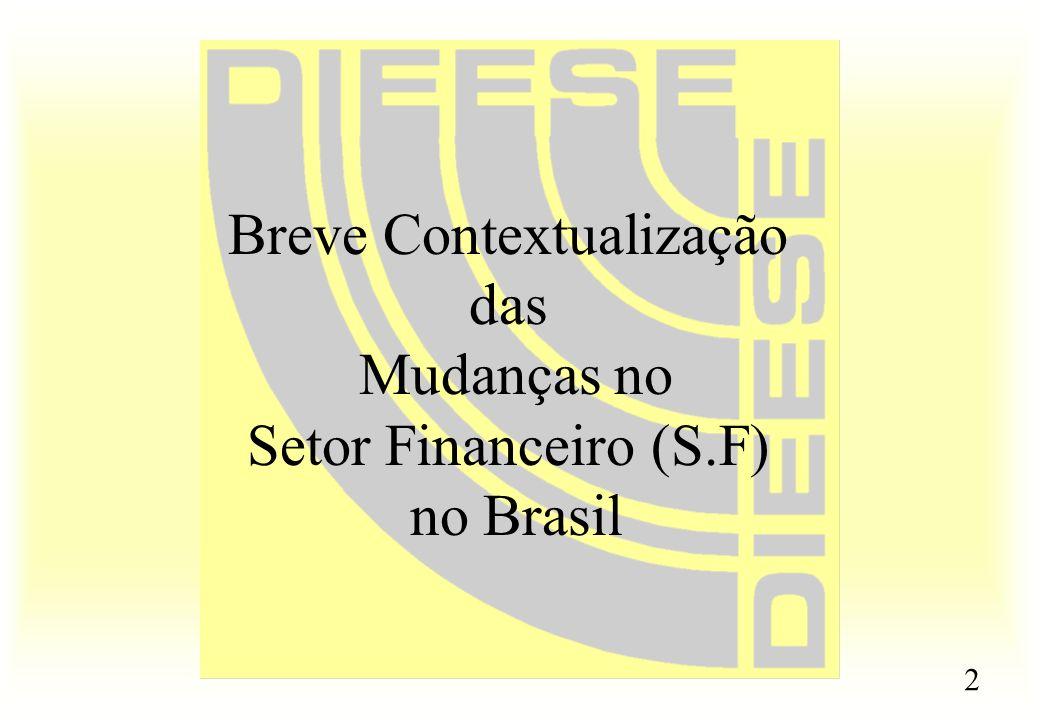 Breve Contextualização das Mudanças no Setor Financeiro (S