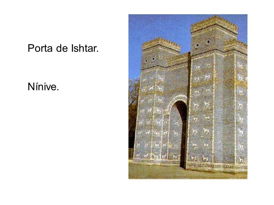 Porta de Ishtar. Nínive.