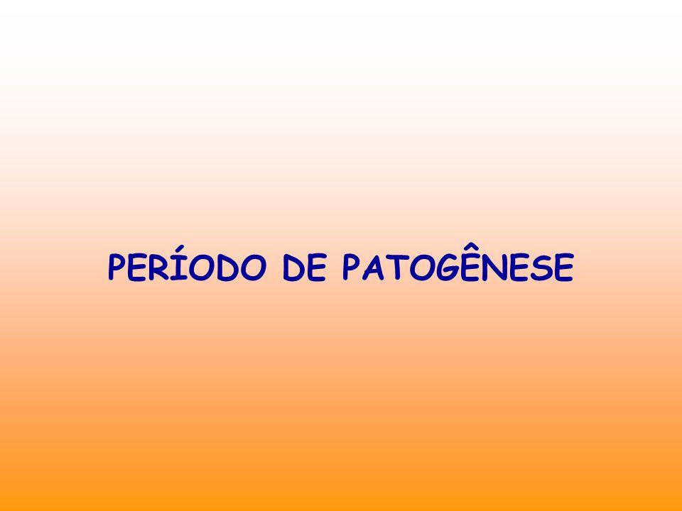 PERÍODO DE PATOGÊNESE