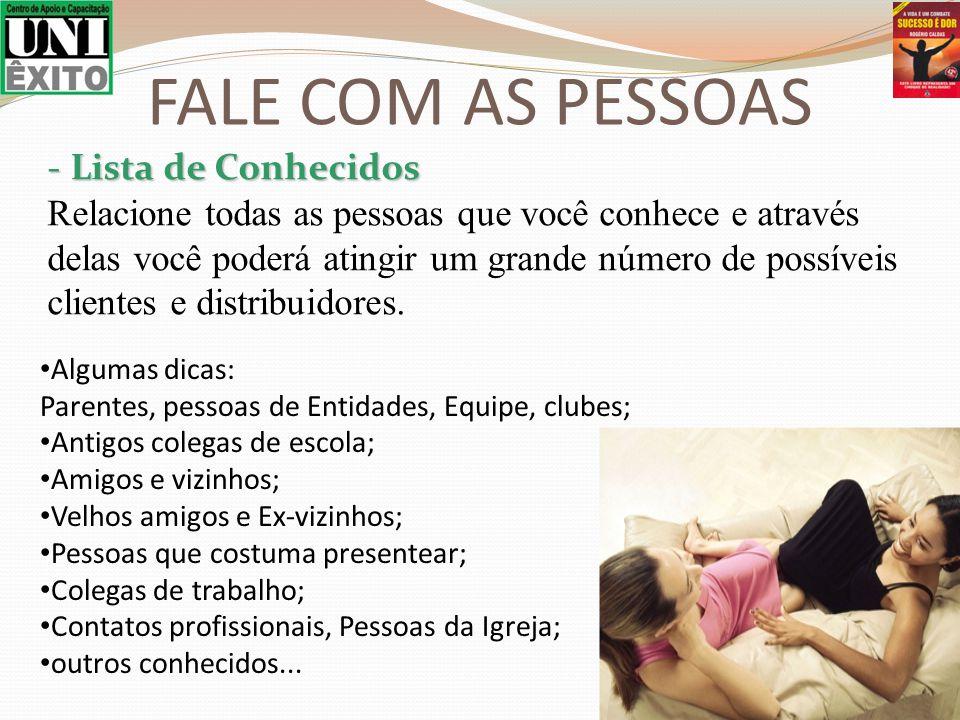 FALE COM AS PESSOAS