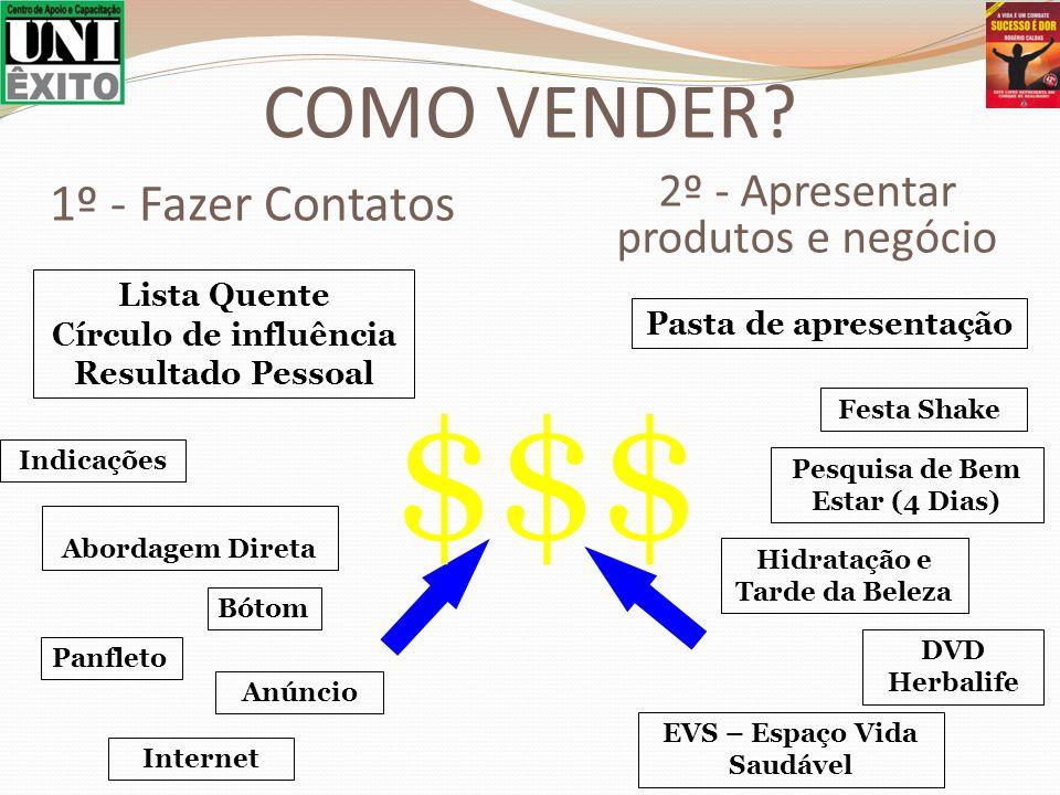 $$$ COMO VENDER 1º - Fazer Contatos