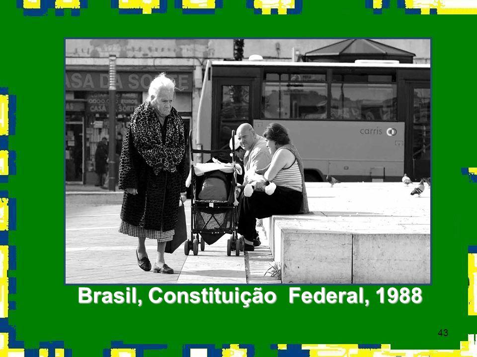 Brasil, Constituição Federal, 1988