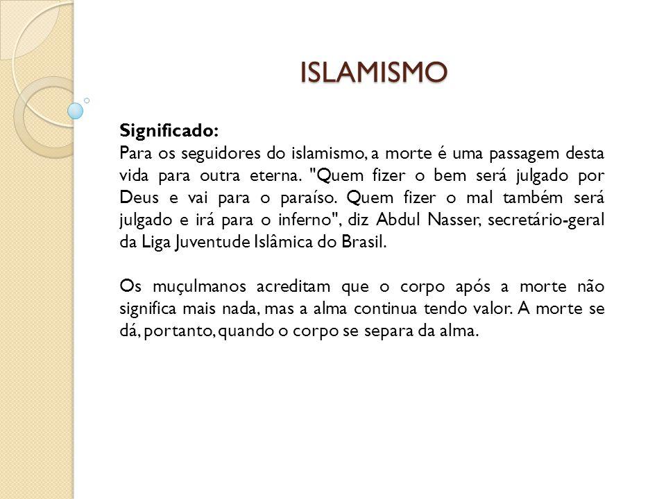 ISLAMISMO Significado: