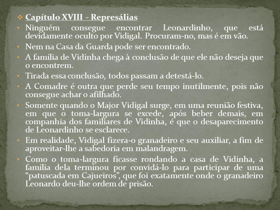 Capítulo XVIII - Represálias