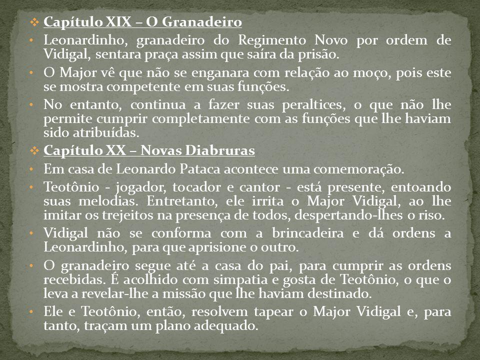 Capítulo XIX – O Granadeiro
