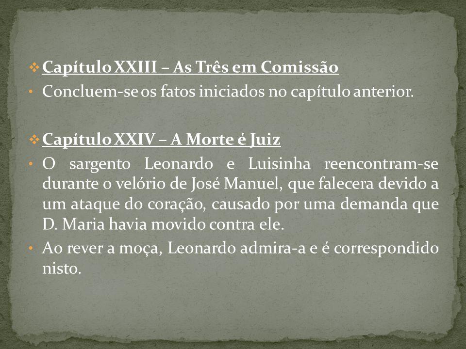 Capítulo XXIII – As Três em Comissão