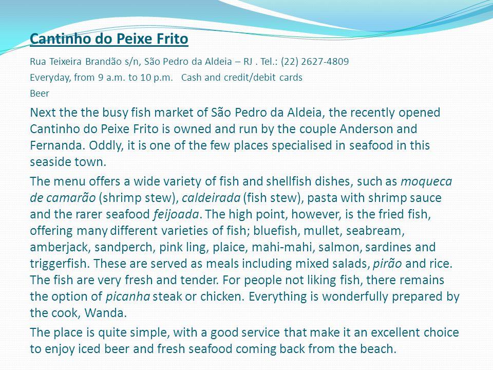 Cantinho do Peixe Frito