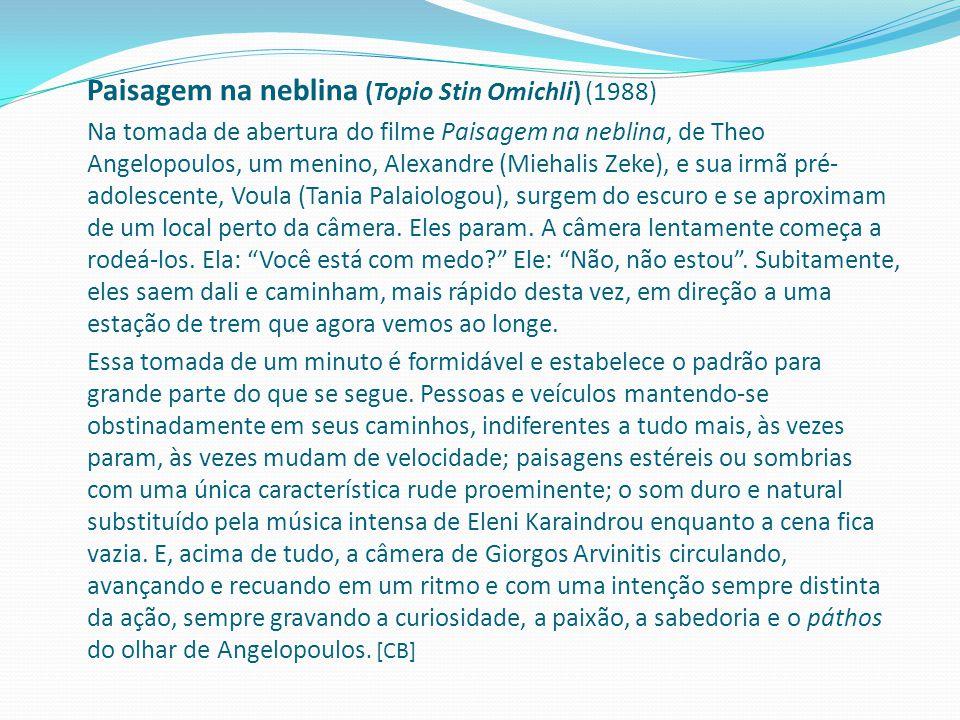 Paisagem na neblina (Topio Stin Omichli) (1988)