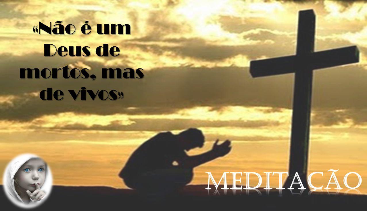 «Não é um Deus de mortos, mas de vivos»