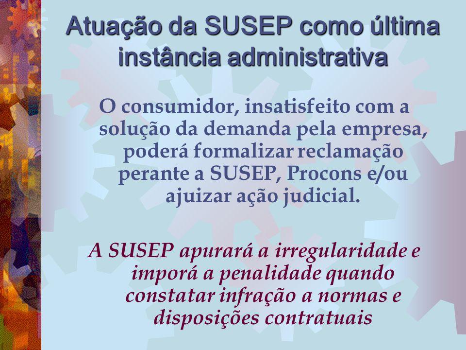 Atuação da SUSEP como última instância administrativa
