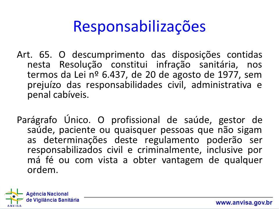 Responsabilizações