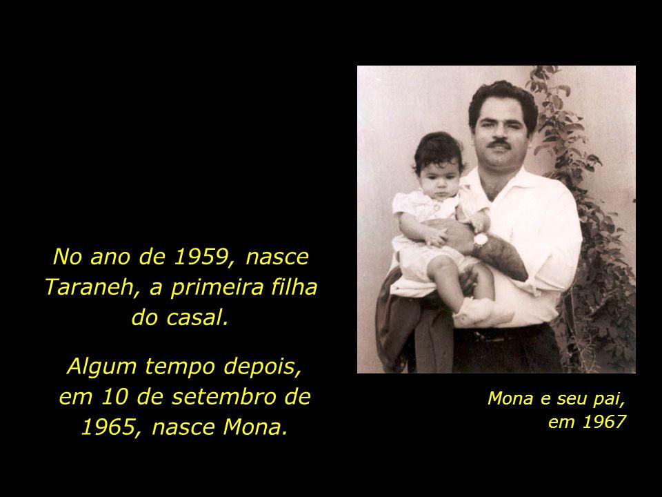 No ano de 1959, nasce Taraneh, a primeira filha do casal.