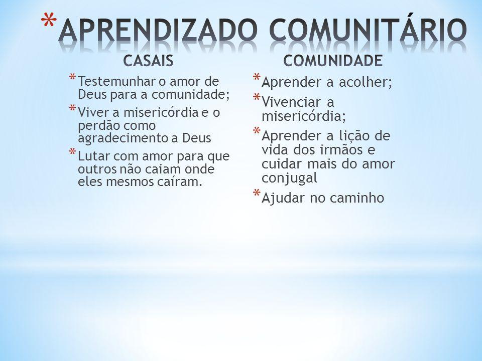 APRENDIZADO COMUNITÁRIO