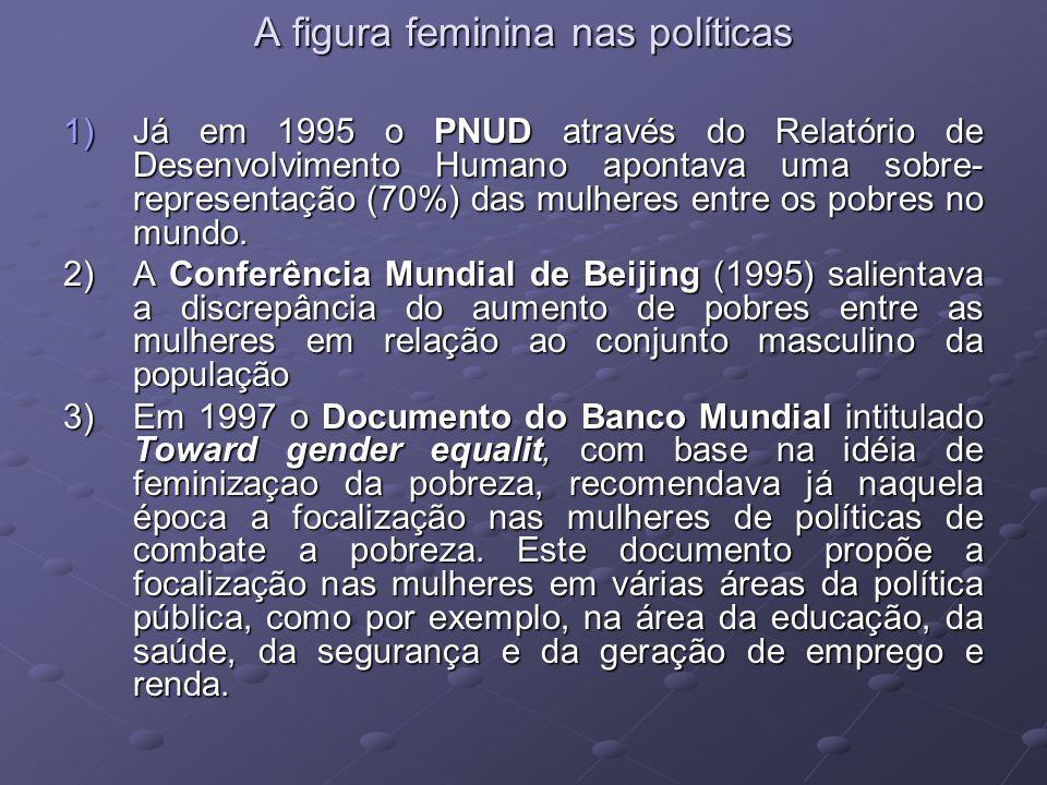 A figura feminina nas políticas