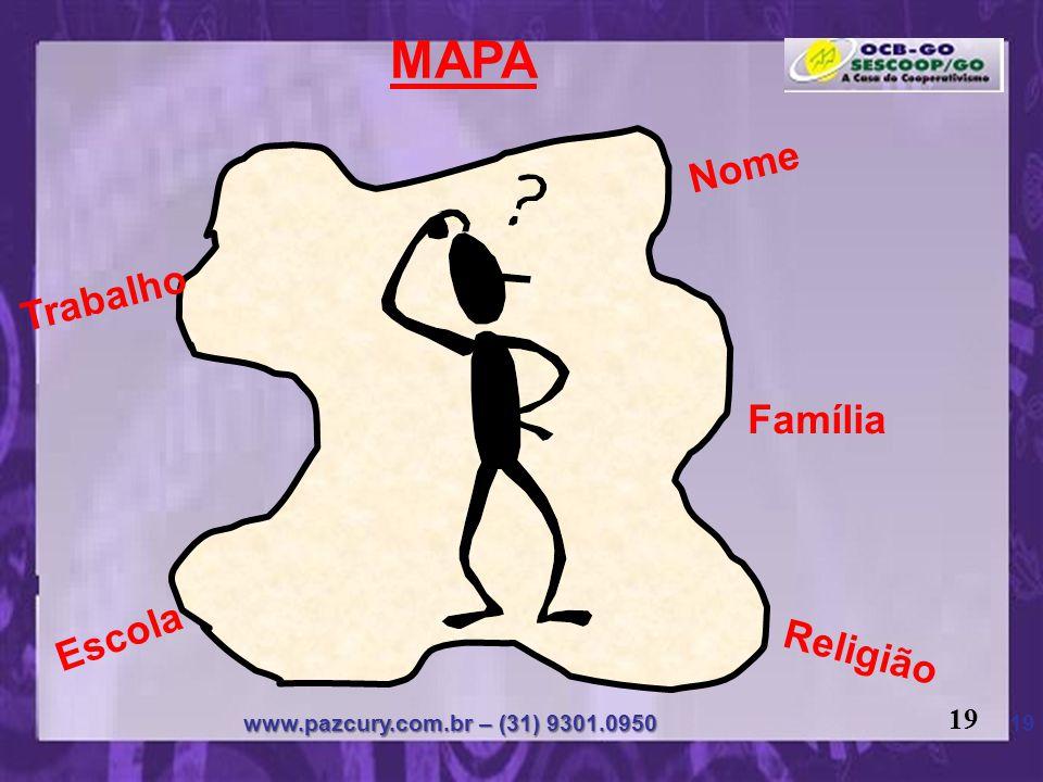 MAPA Nome Trabalho Família Escola Religião 19