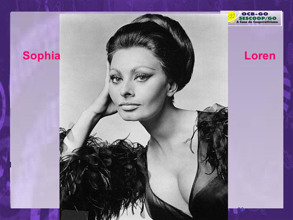 Sophia Loren www.pazcury.com.br – (31) 9301.0950
