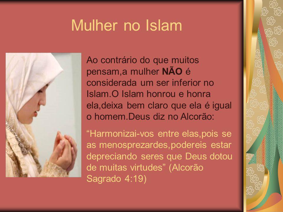 Mulher no Islam ffff.