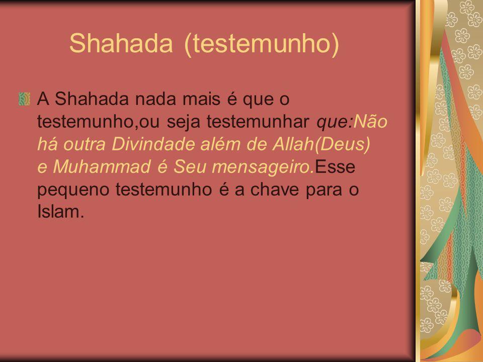 Shahada (testemunho)