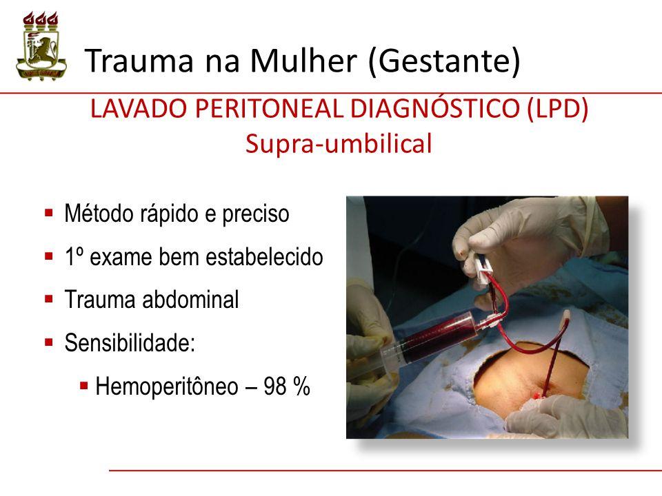 LAVADO PERITONEAL DIAGNÓSTICO (LPD)