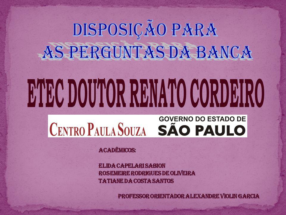 ETEC DOUTOR RENATO CORDEIRO