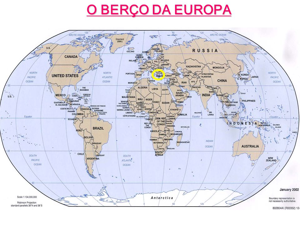 O BERÇO DA EUROPA