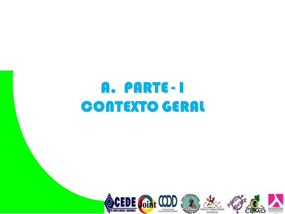 PARTE - I CONTEXTO GERAL