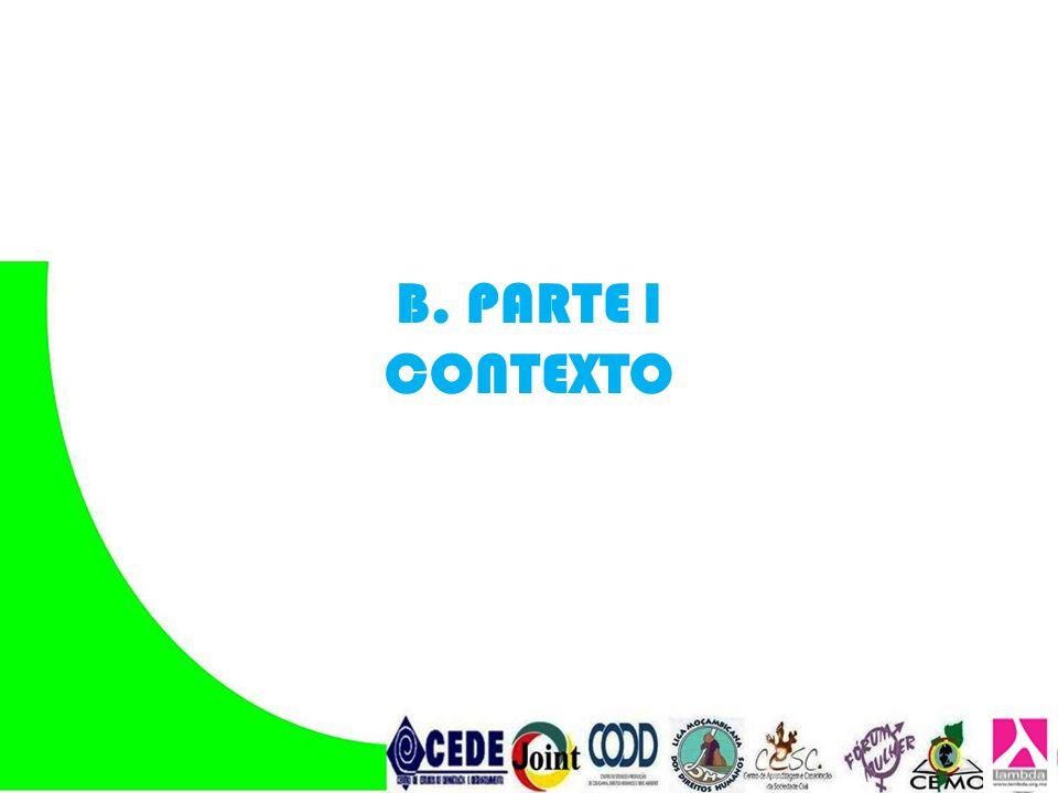 B. PARTE I CONTEXTO