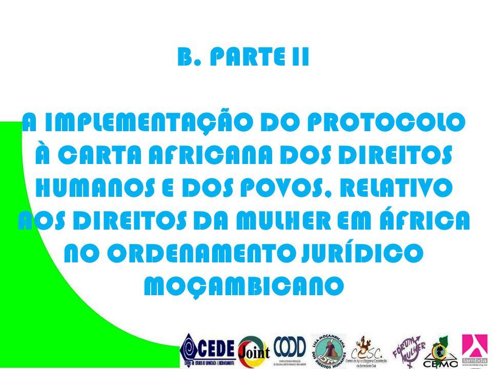 B. PARTE II