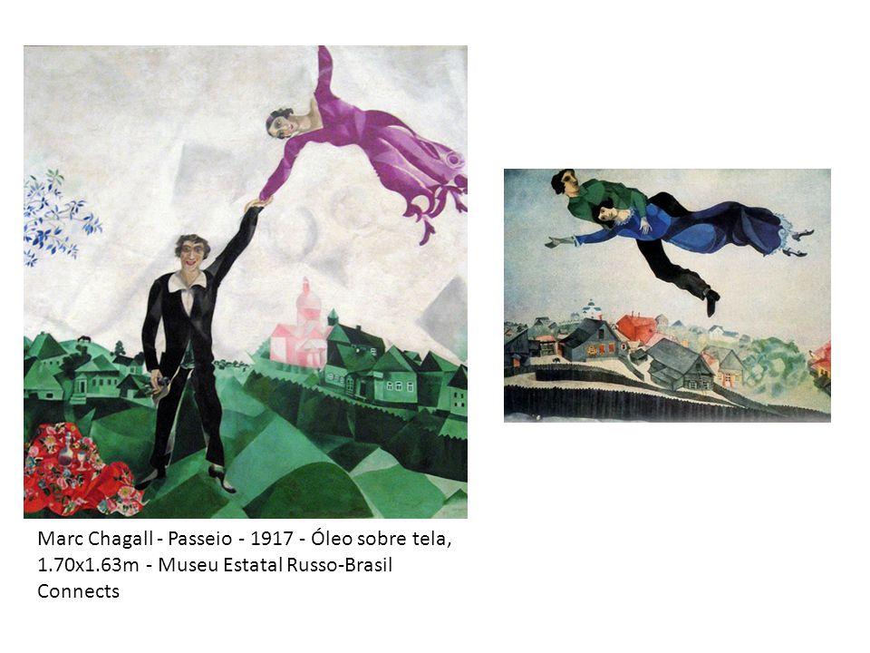 Marc Chagall - Passeio - 1917 - Óleo sobre tela, 1. 70x1