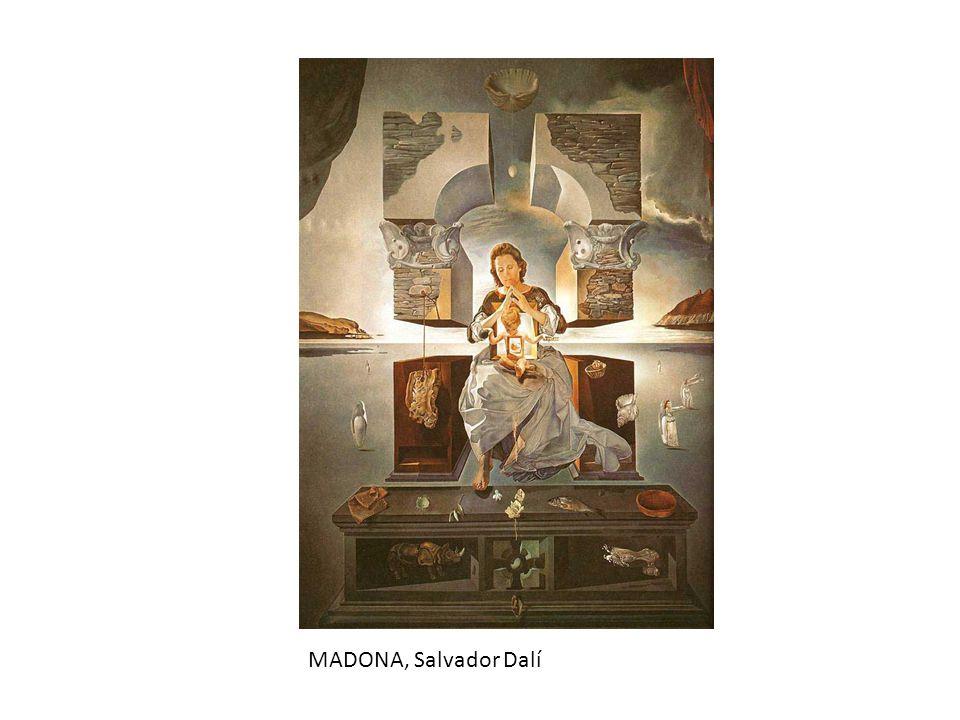MADONA, Salvador Dalí