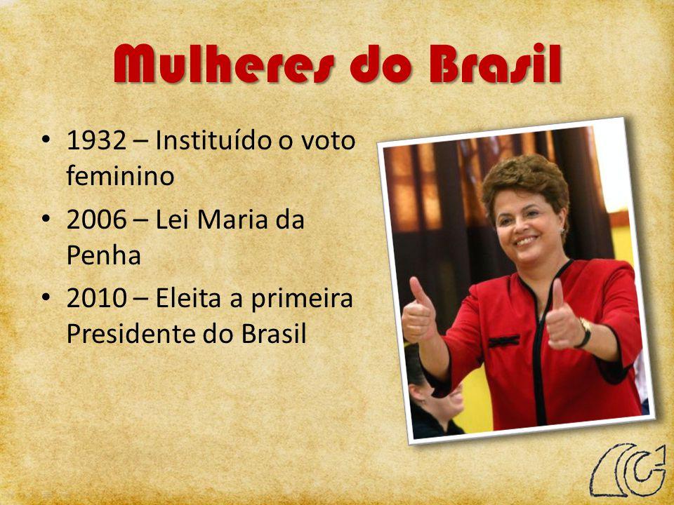 Mulheres do Brasil 1932 – Instituído o voto feminino