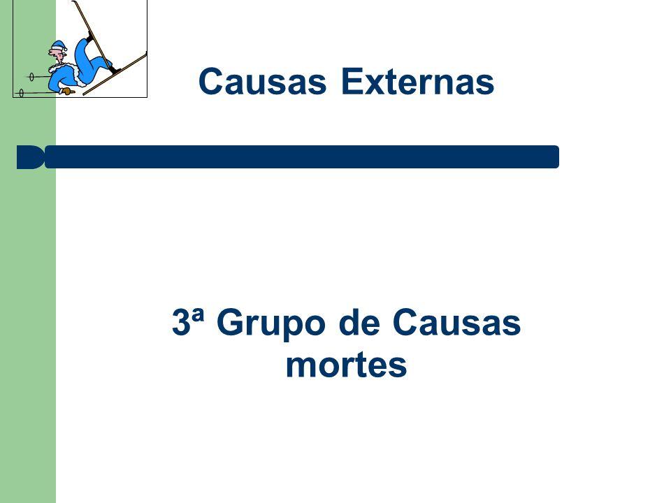 3ª Grupo de Causas mortes