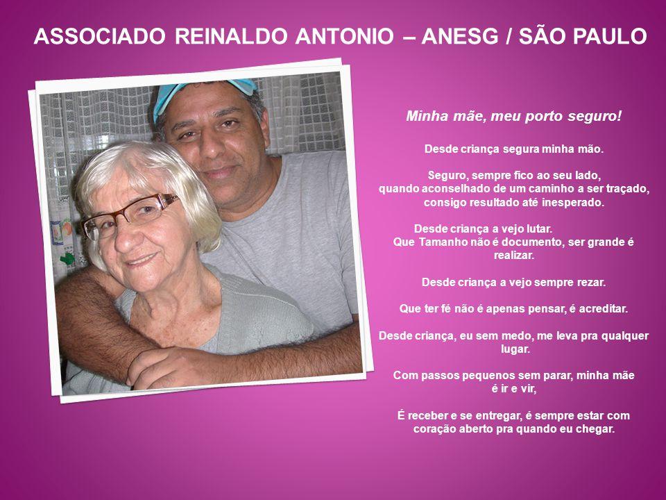 ASSOCIADO REINALDO ANTONIO – ANESG / SÃO PAULO