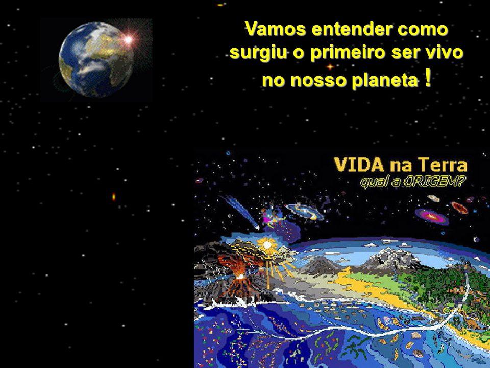 Vamos entender como surgiu o primeiro ser vivo no nosso planeta !