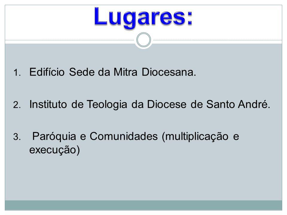 Lugares: Edifício Sede da Mitra Diocesana.