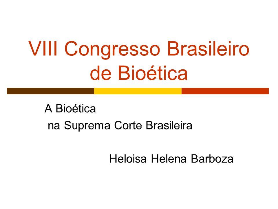 VIII Congresso Brasileiro de Bioética