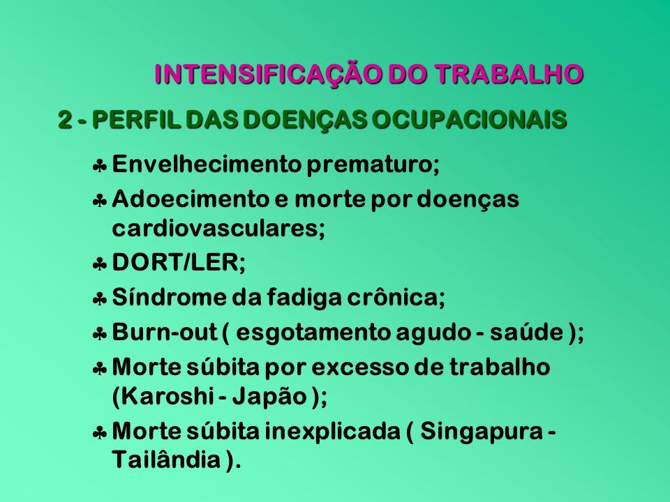 INTENSIFICAÇÃO DO TRABALHO