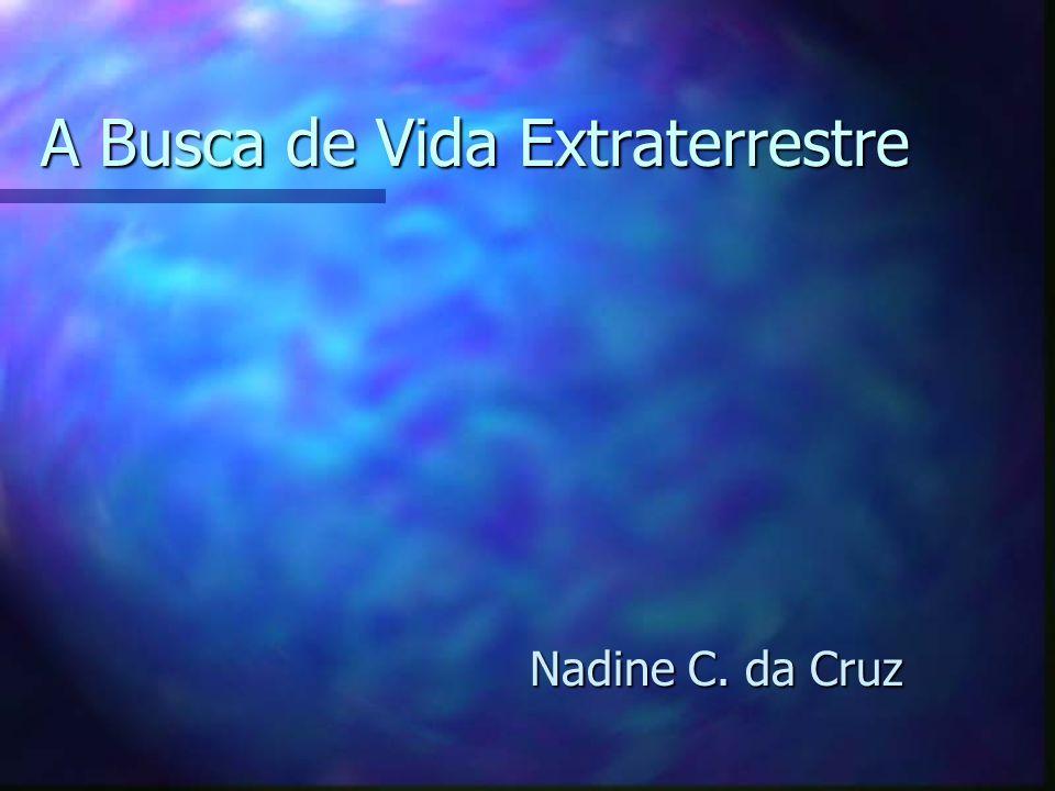 A Busca de Vida Extraterrestre