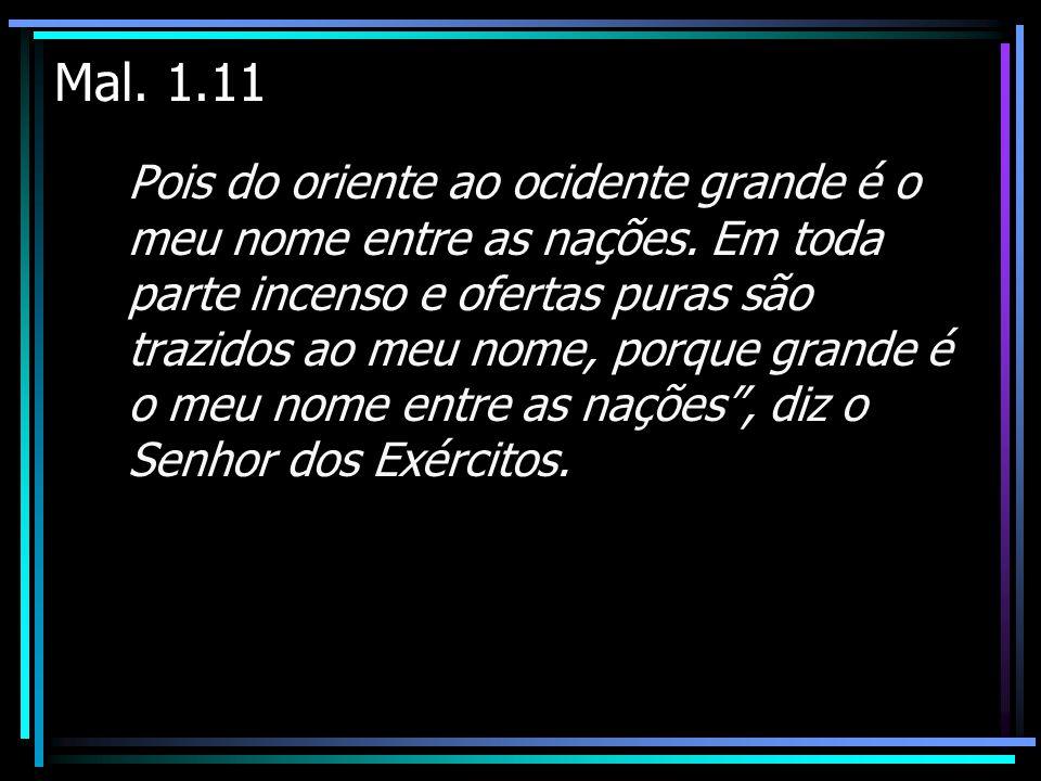 Mal. 1.11